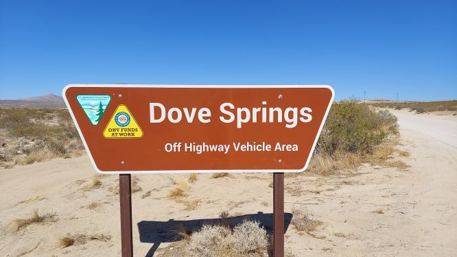Dove Springs Sign